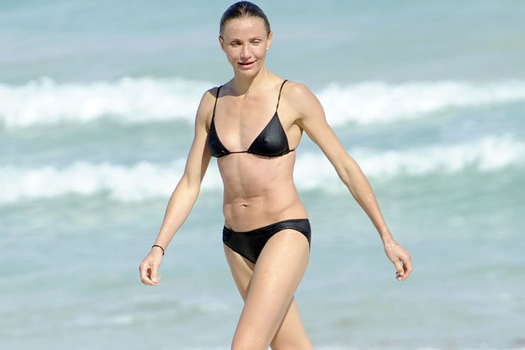 Cameron Diaz and her surfing schedule
