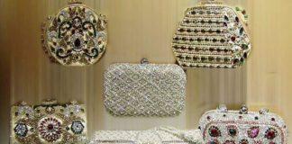 bridal clutches