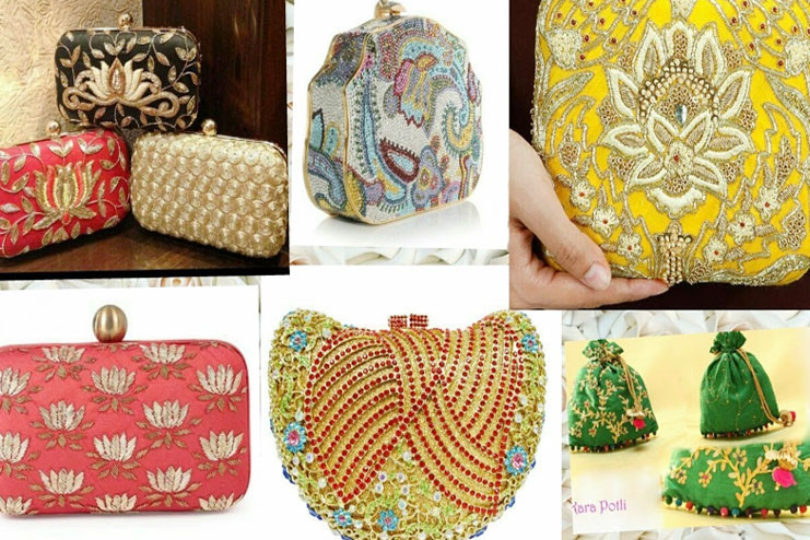 Kinds of bride clutches