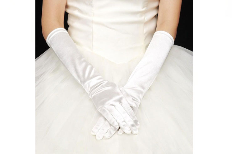 Opera length wedding gloves-bridal gloves