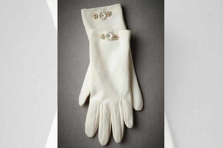 2 button bridal glove-bridal gloves