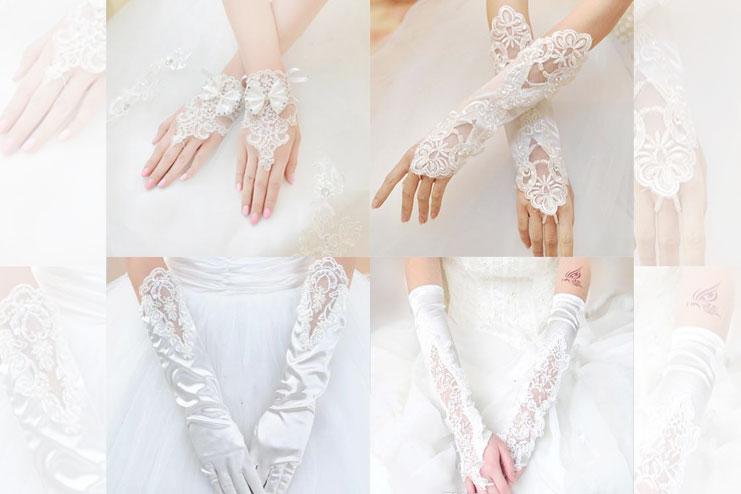 Bridal glove etiquette-bridal gloves