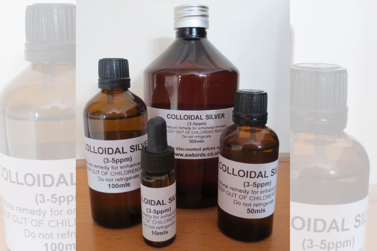 Colloidal silver-strongest natural antibiotics