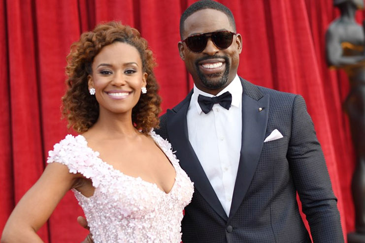 Ryan Michelle Bathe and Sterling K Brown