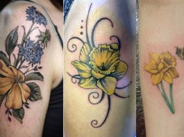 Daffodil Tattoos Designs