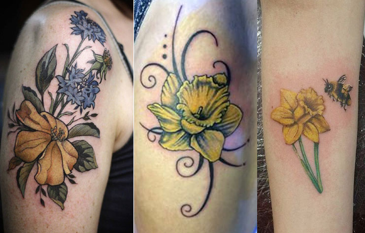 Daffodil Tattoo: Some Amazing Daffodil Tattoos Designs And Ideas You Must