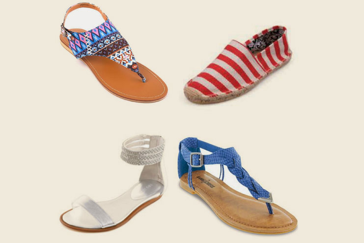 Pick trendy and comfortable sandals