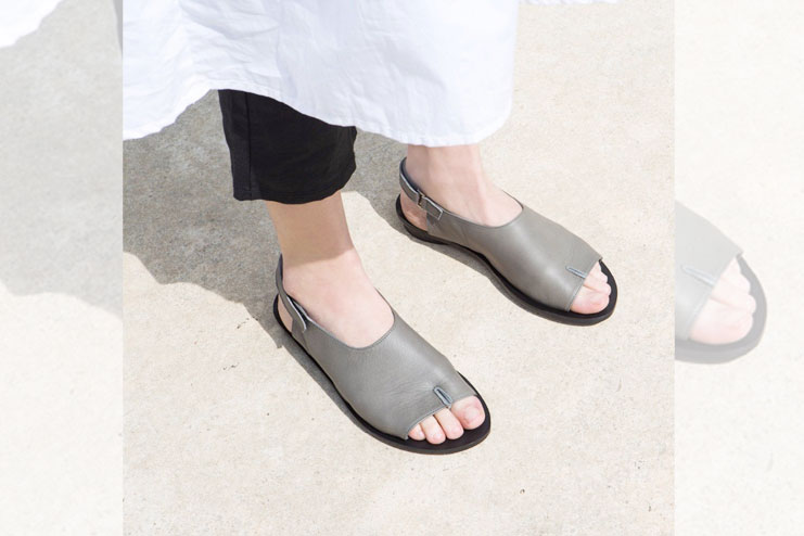 Comfortable and open toe shoes are your friends
