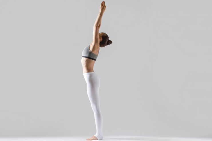 Tadasana or the mountain pose