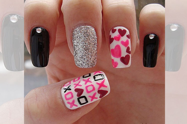Have you checked these Valentine Day Nail art Ideas yet? (charming ...