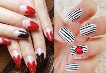 valentine day nail art ideas
