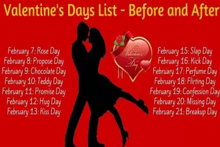 valentines day date sheet