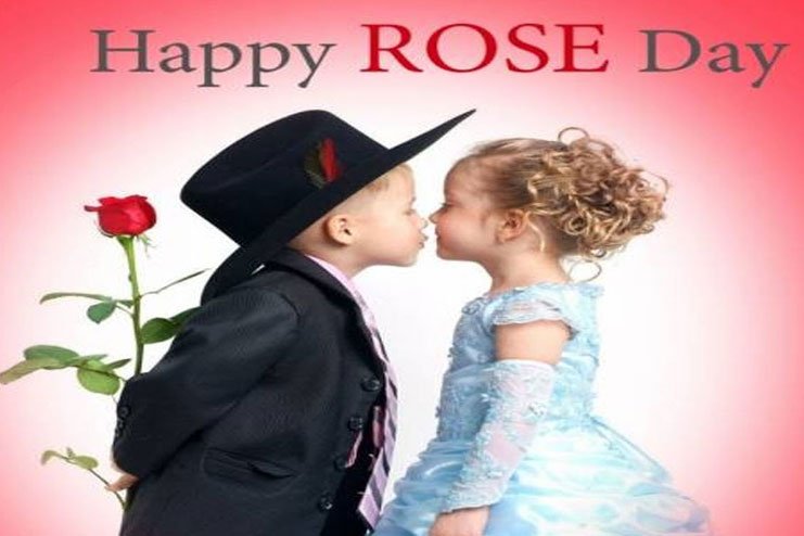 Rose Day celebrated on Feb 7th