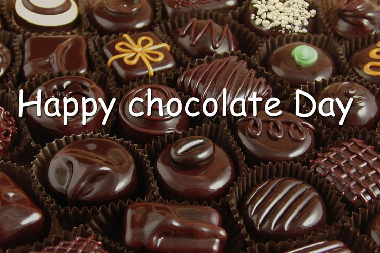 Chocolate day celebrated on Feb 9th
