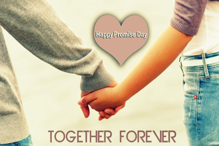Promise day celebrated on Feb 11th