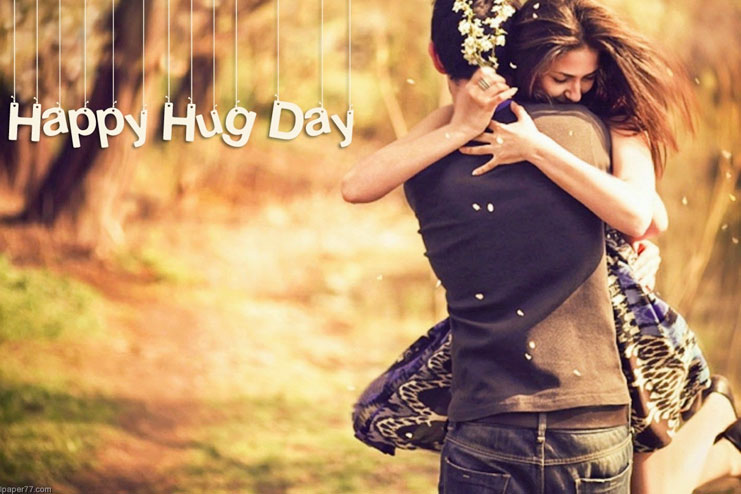 Hug day celebrated on Feb 13th