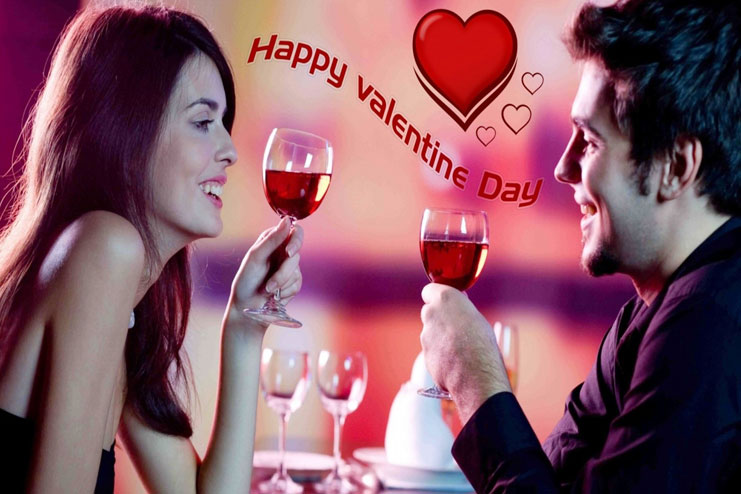 Valentines day celebrated on Feb 14th