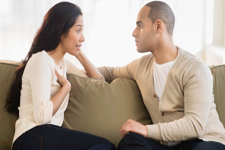 Listen more and talk less-fighting in a relationship