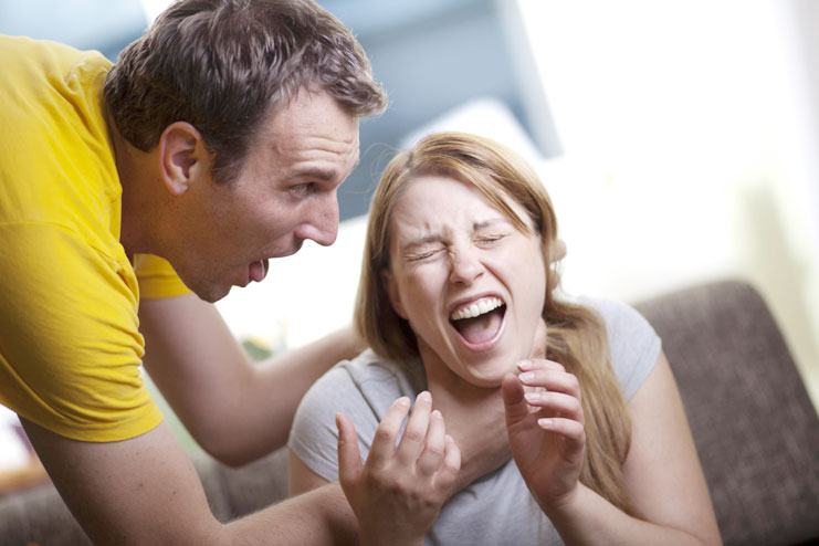 Avoid physical or verbal abuse-fighting in a relationship