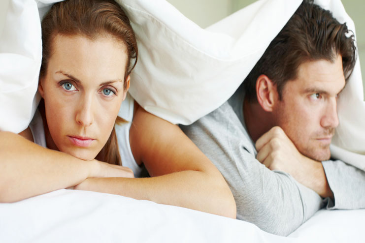 Sleep off the anger-fighting in a relationship