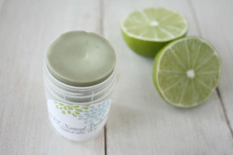 Natural herbal homemade deodorant