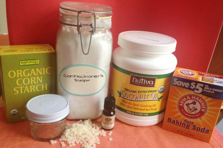 sensitive skin with coconut oil