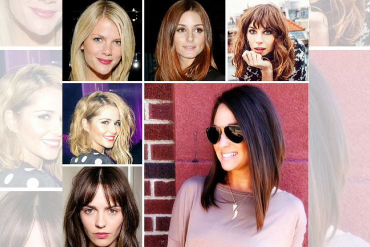 How to style a lob haircut
