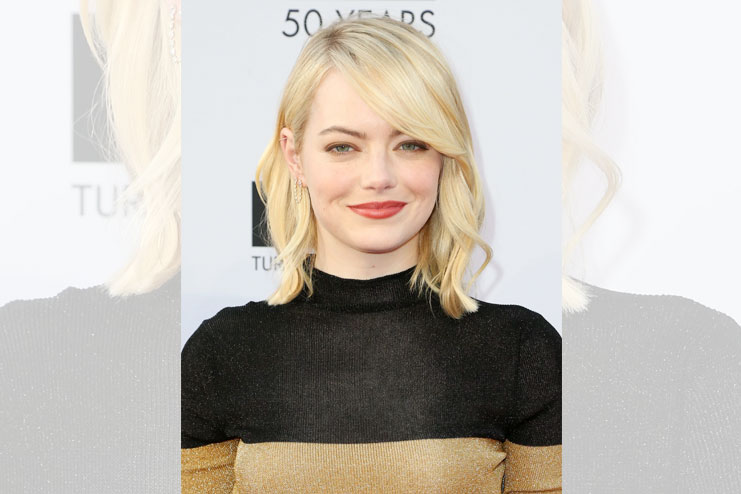 Emma Stone in feminine edges