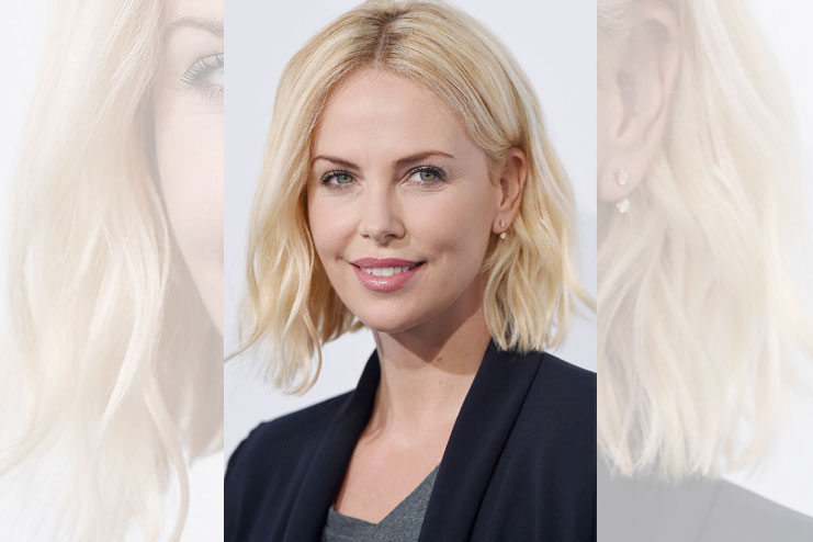 How to style lob haircut and look stunning our above the shoulder style icon charlize theron gives some serious lob style goals perfectly blended hairdo with centre parting and amazing hues of winobraniefo Choice Image