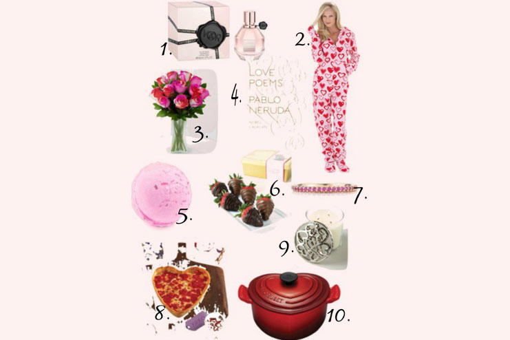 Top ten valentine gifts for her-Valentine's Day gift ideas