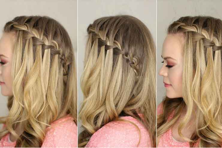 How To Do A Waterfall Braid Hairstyle In 5 Easy Steps