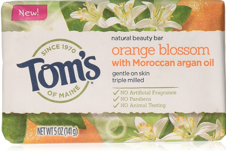 Toms of Maine natural beauty bar soap