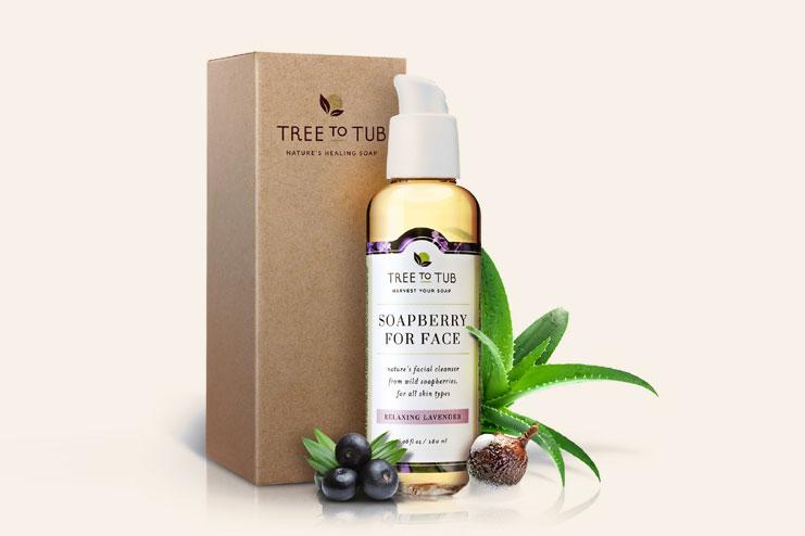 Tree to Tub organic sensitive skin face wash