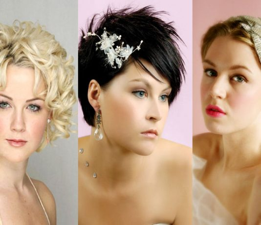 Bridal-Short-Hairstyles