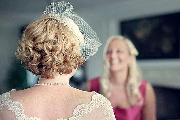 25 Amazing Bridal Short Hairstyles
