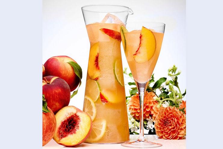 peach fruit juice