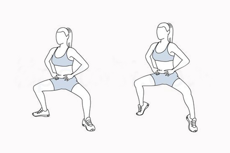 Plie Squat Calf Raises