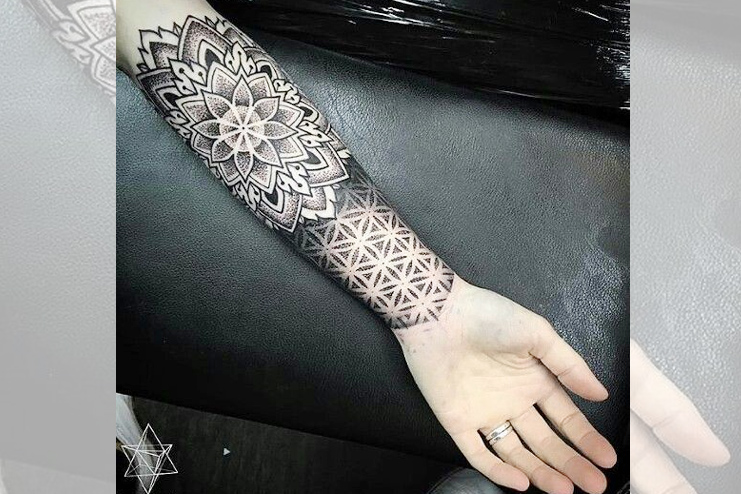 Full sleeve mandala