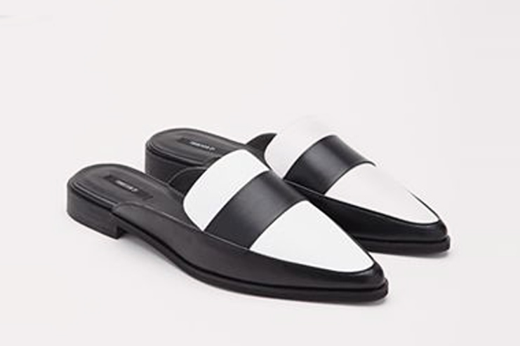 Pointed Faux Leather Loafers - Forever21