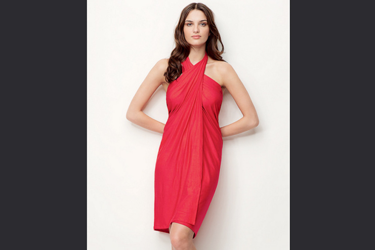 Dressing sarong gown