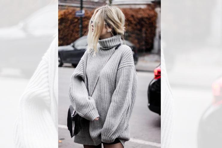 Petite Oversized Sweater