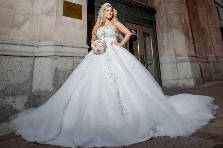 15 Of the Most Expensive Wedding Dresses of All Time