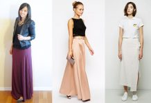 maxi skirts for womens