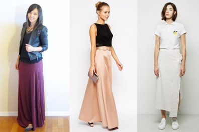 20 Different Ways To Wear The Timeless Maxi Skirt