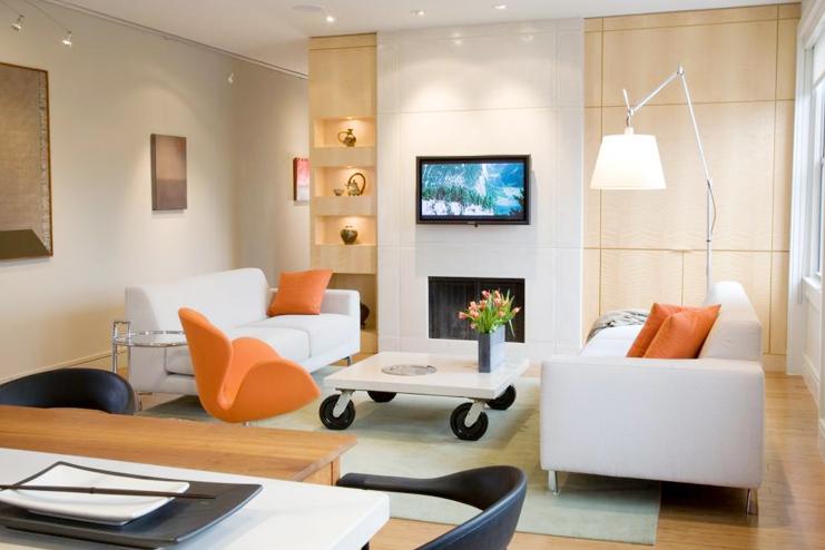 Choosing furniture that looks light