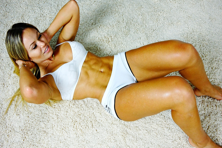 Five minute abs workout