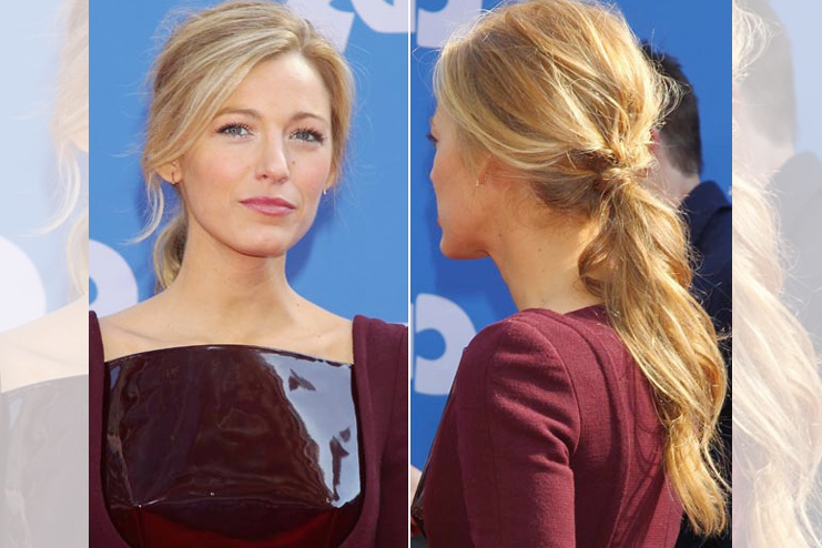 The Soft wave ponytail