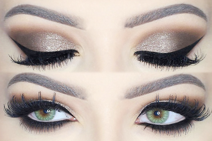 Make your eyes look dramatic