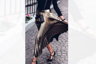14 Exclusive Ways to wear the Favorite Pleated Skirt