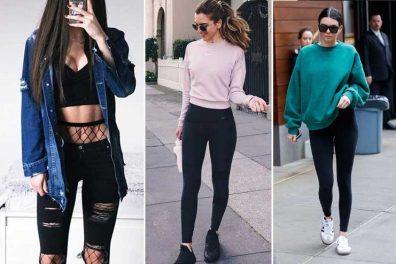 14 Glamorous Ways to Wear the Super Fashionable Leggings